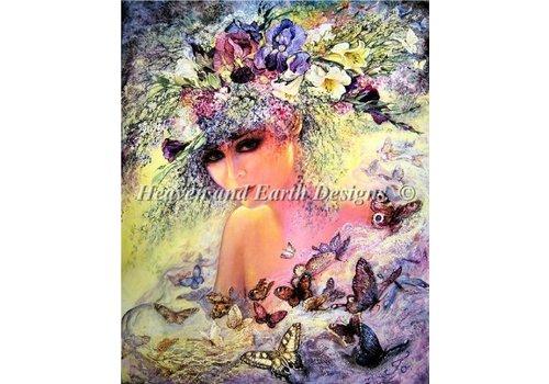 Heaven and Earth Designs  Josephine Wall: Mini Flora