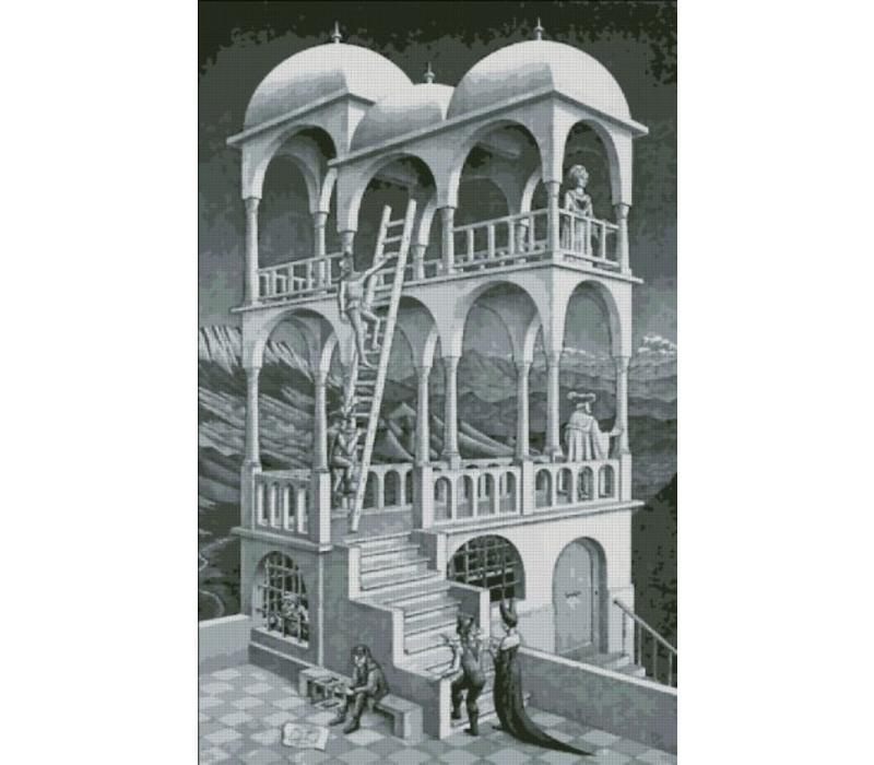 M.C. Escher: Belvedere