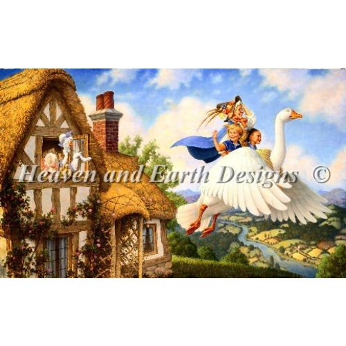 Heaven and Earth Designs  Scott Gustafson: Old Mother Goose