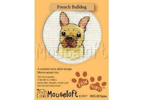 Mouseloft Borduurpakket French Bulldog - Mouseloft