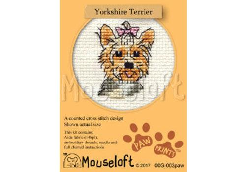 Mouseloft Borduurpakket Yorkshire Terrier - Mouseloft
