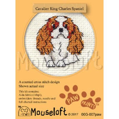 Mouseloft Borduurpakket Cavalier King Charles Spaniel - Mouseloft
