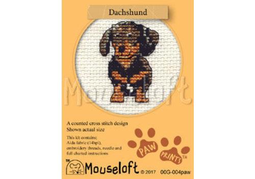 Mouseloft Borduurpakket Dachshund - Mouseloft
