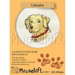 Mouseloft Borduurpakket Labrador - Mouseloft
