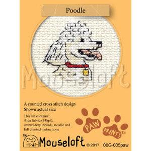 Mouseloft Borduurpakket Poodle - Mouseloft