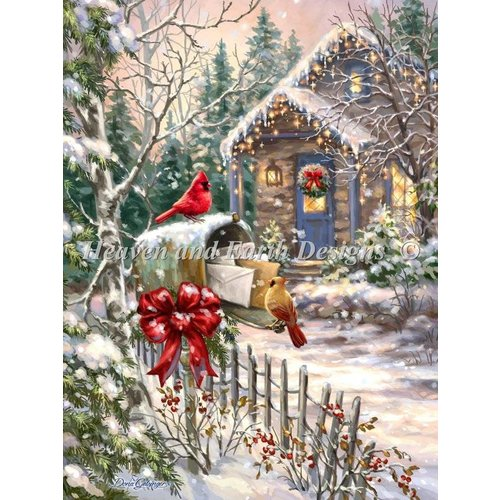 Heaven and Earth Designs  Dona Gelsinger: Cardinal Cottage