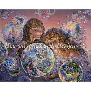 Heaven and Earth Designs  Josephine Wall: Bubble World