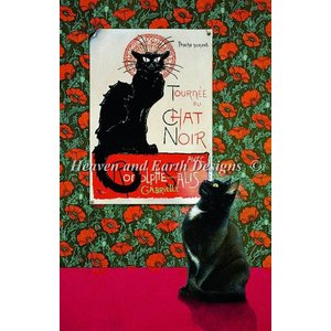 Heaven and Earth Designs  Lesley Anne Ivory: Tournee Du Chat Noir
