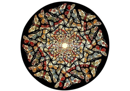 Heaven and Earth Designs  M.C. Escher: Circle Limit with Butterflies