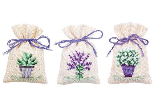 Vervaco Lavendelzakje (set van 3) Provence