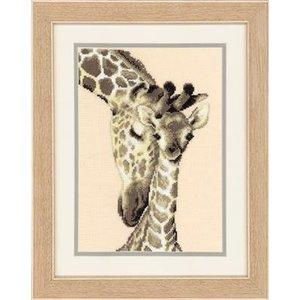 Vervaco Telpakket kit 2 Giraffen