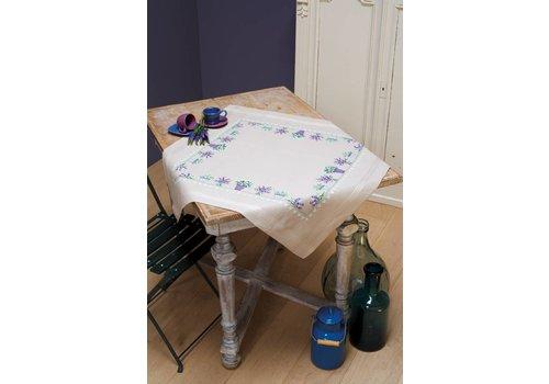 Vervaco Tafelkleed kit Lavendel