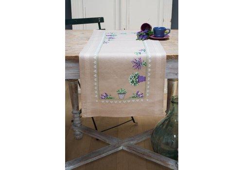 Vervaco Loper kit Lavendel