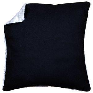 Vervaco Kussenrug zonder rits - 40 x 40 cm - zwart