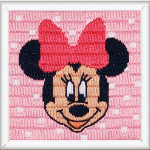 Vervaco Spansteekkussen kit Disney Minnie Mouse