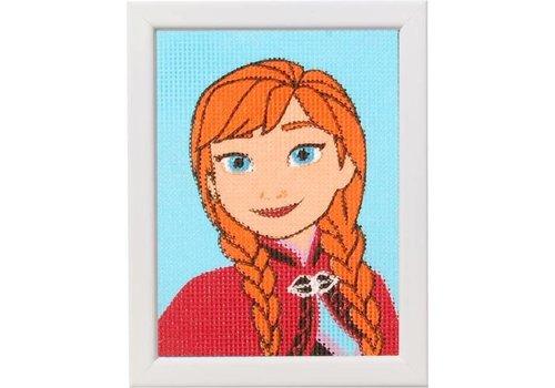Vervaco Frozen: Stramien Anna