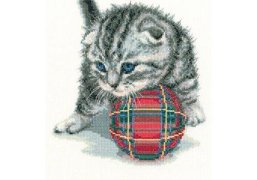 RTO Borduurpakket Playful kitten - RTO