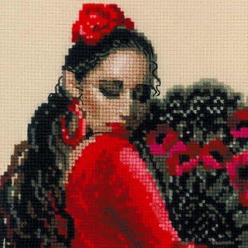 RIOLIS Borduurpakket Dancer - RIOLIS