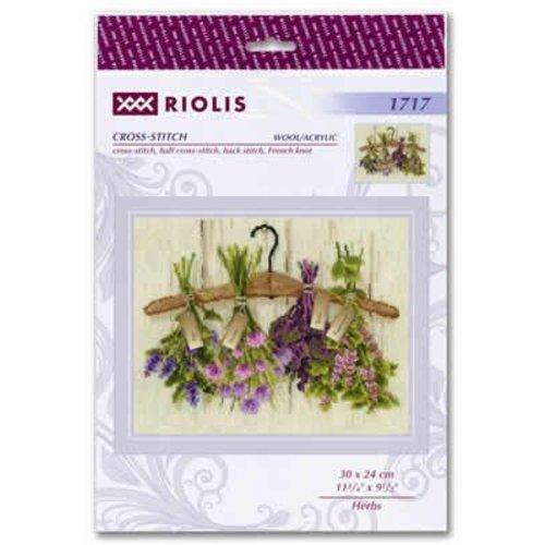 RIOLIS Borduurpakket Herbs - RIOLIS