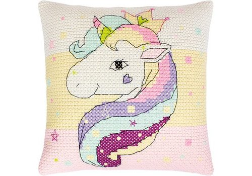 Luca-S Borduurpakket Pillow Unicorn - Luca-S