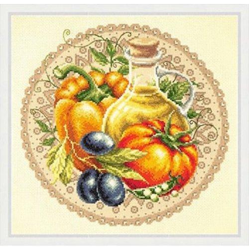 Chudo Igla Borduurpakket Mediterranean Salad - Chudo Igla