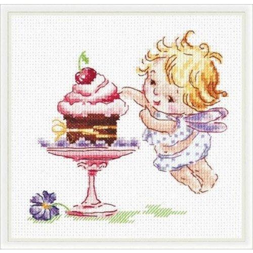 Chudo Igla Borduurpakket I Love Sweets! - Chudo Igla