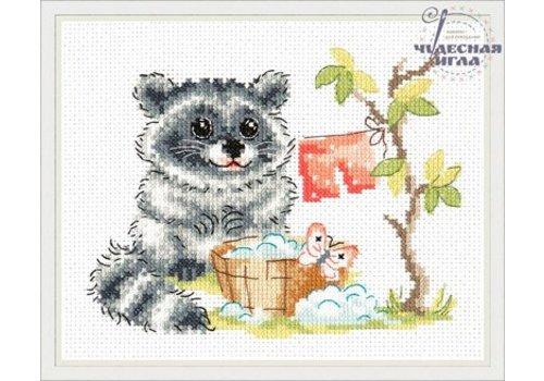 Chudo Igla Borduurpakket Raccoon - Chudo Igla