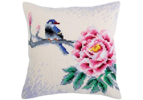 Collection d'Art Kussenpakket Flower and Bird - Collection d'Art
