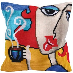 Collection d'Art Kussenpakket Fragrant Coffee  - Collection d'Art