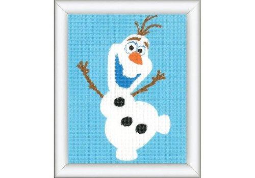 Vervaco Stramien Frozen - Olaf