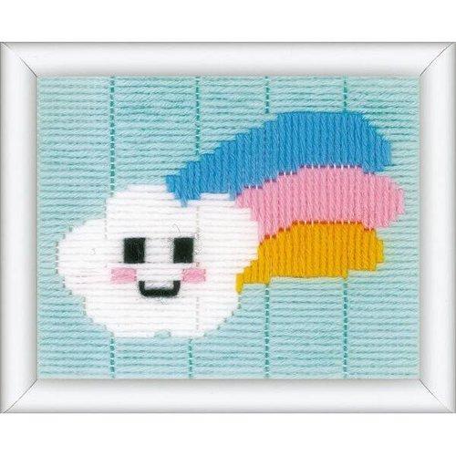 Vervaco Spansteek kit Wolkje met regenboog