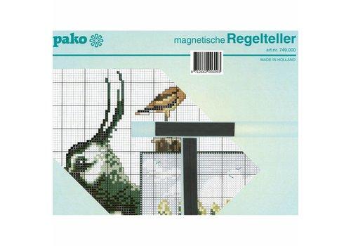 Pako Magneetbord met regelteller (Pako)
