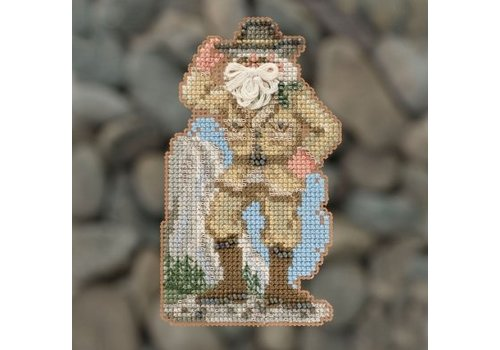 Mill Hill National Parks Santas -  Yosemite Santa (2018)