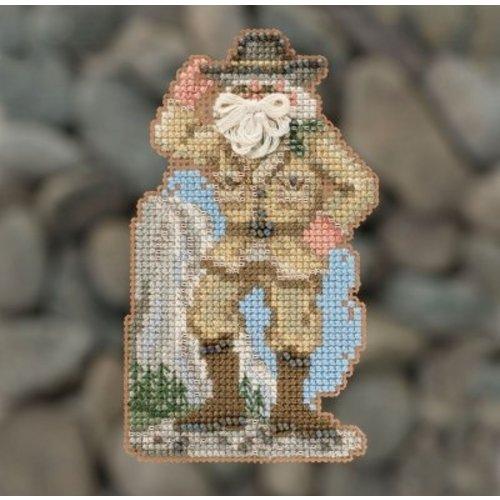 Mill Hill National Parks Santas -  Yosemite Santa (2018)