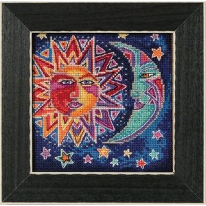 Mill Hill Celestial Collection - Sun and Moon