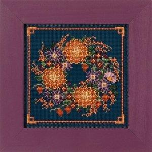 Mill Hill Buttons Beads Autumn Series - Mum Wreath