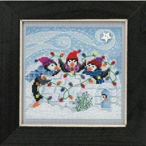 Mill Hill Buttons Beads Winter Series - Playful Penguins