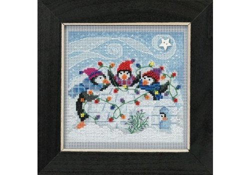Mill Hill Buttons Beads Winter Series - Playful Penguins