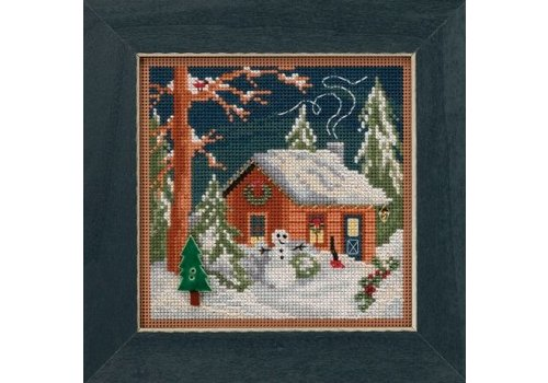 Mill Hill Buttons Beads Winter Series - Christmas Cabin