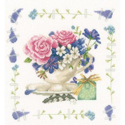 Lanarte Telpakket kit Boeket met rozen