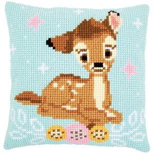 Vervaco Kruissteekkussen kit Disney Bambi
