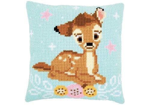 Vervaco Borduurkussen Disney Bambi