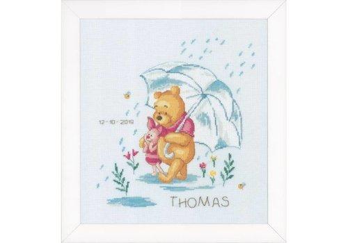 Vervaco Geboortetegel Thomas: Winnie de Pooh
