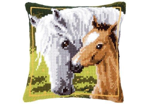 Vervaco Wit Paard met Veulen