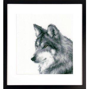 Vervaco Telpakket kit Wolf