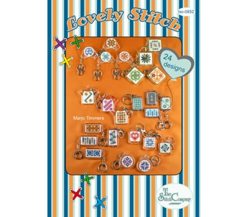 24 Keyring designs