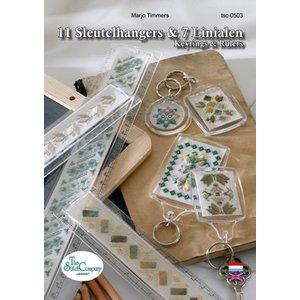 The Stitch Company Boek: 11 Sleutelhangers & 7 Linialen