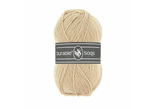 Durable Durable Soqs 0423 - Cream Tan