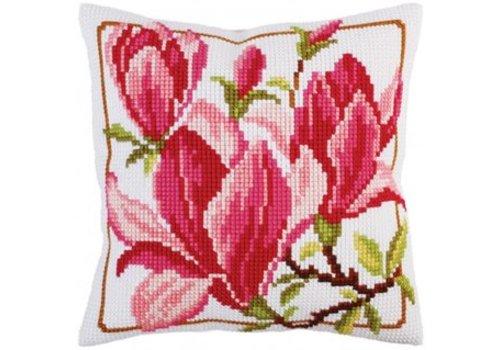 Collection d'Art Kussenpakket Magnolia Flower - Collection d'Art