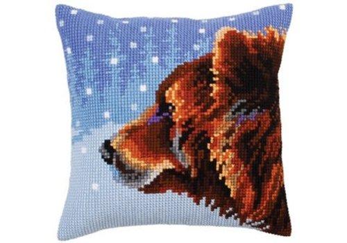 Collection d'Art Kussenpakket Winter Animals Bear - Collection d'Art
